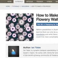 Preview for  How to Make a Foolproof Flowery Wallpaper Pattern - Screencast