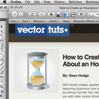 Preview for How to Create an Hourglass Icon in About an Hour - Screencast