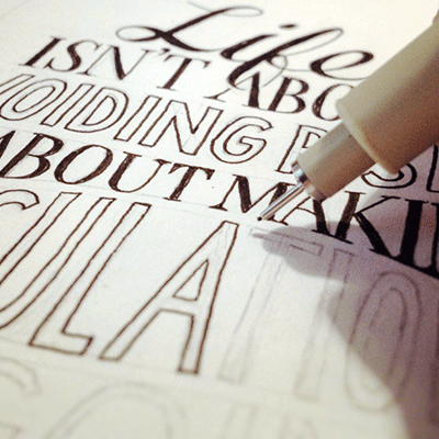 Preview for Weekend Presentation: So You Want to Learn Hand Lettering?