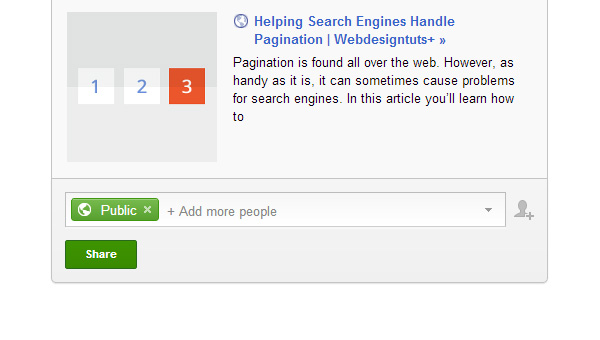 social snippet on google