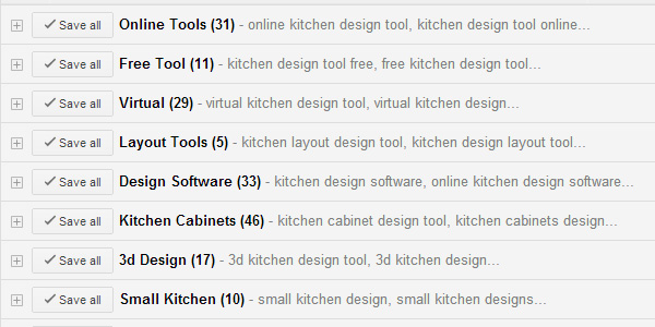 kitchen design tools in adwords