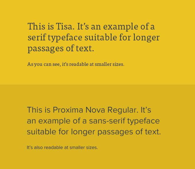 Typographic Readability and Legibility