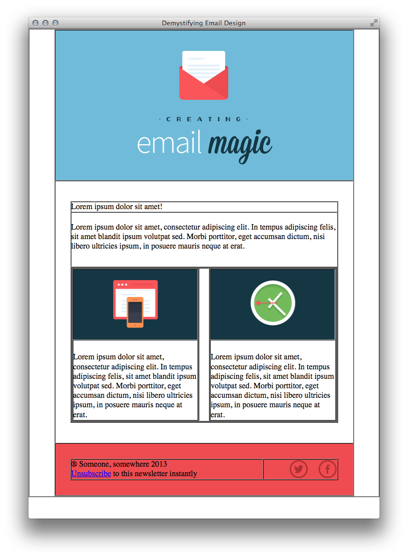 Build An HTML Email Template From Scratch - How to make email newsletter templates