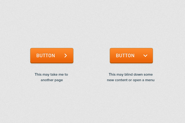 From Pete Orme's Principles for Successful Button Design