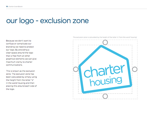 Charter Housing Brand Guidelines by Bluegg