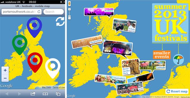 Responsive Design, Retina Images and Debugging for Google Maps API