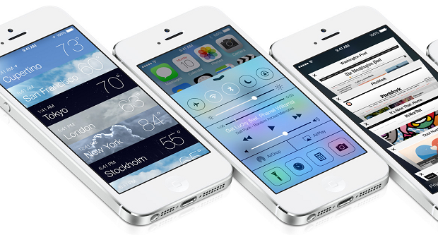 iOS 7 is Apple's first major foray into Flat Design