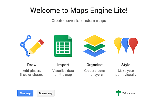 maps engine lite