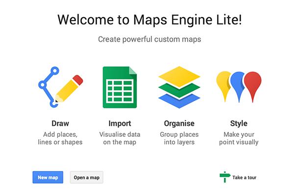 maps engine lite