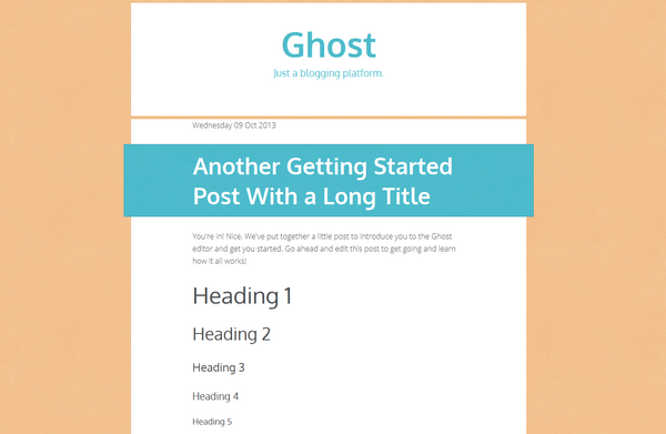 GhostTheming_TakingShape