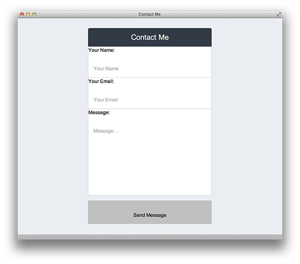 Implementing the Float Label Form Pattern
