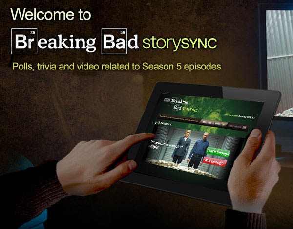Breaking Bad's second screen experience