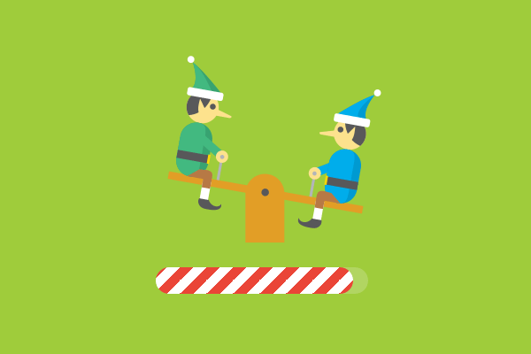 A simple animation can often be enough (Haraldur Thorleifsson's Santa Tracker for Google.