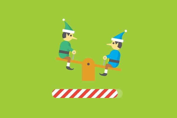 A simple animation can often be enough (Haraldur Thorleifsson's Santa Tracker for Google.
