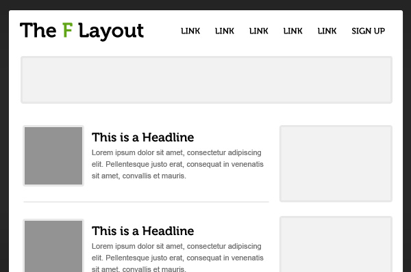 Website Page Layout