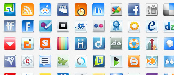 Free Web Icons Roundup