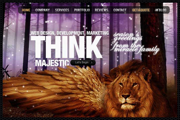 Web Design Trends : Web Design Big Images 3