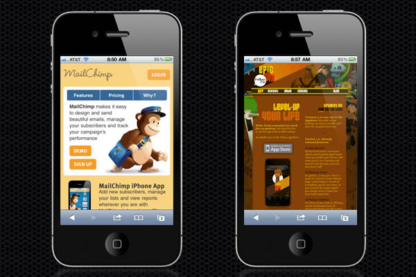 Web Design Trends : Mobile Web Design 5