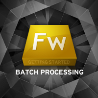 Fireworks batch processing