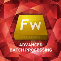 Fireworks adv batch processing