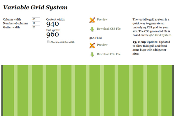 Using The 960 Grid System As A Design Framework
