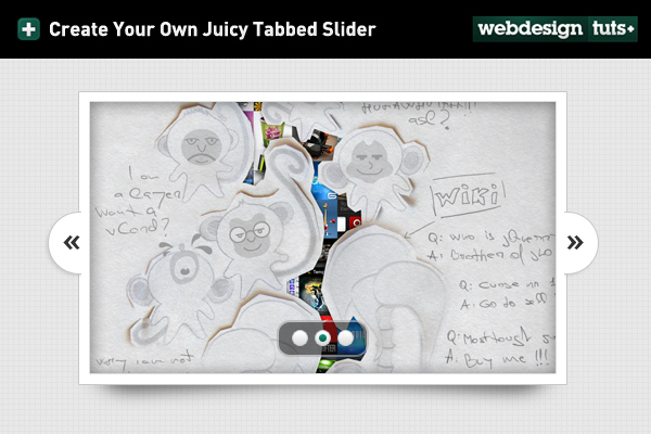 Create Your Own Juicy Tabbed Slider (Free PSD + Coding Update!)