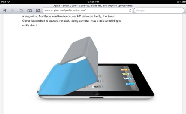 iPad Smart Cover Website