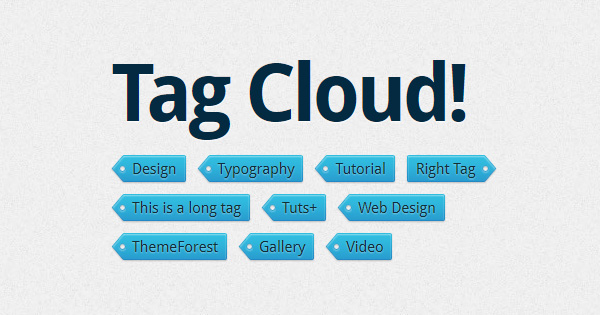 Create And Code Your Own Juicy Tag Cloud