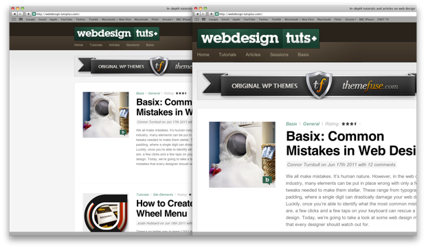 articles about good web design