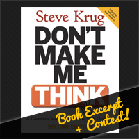 Preview for Don't Make Me Think: Free Chapter + Book Giveaway Contest!