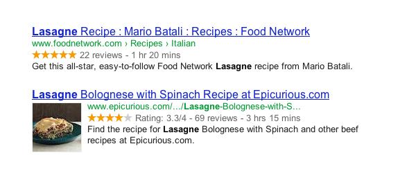 lasagne |