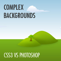 Preview for CSS3 vs. Photoshop: Complex Backgrounds