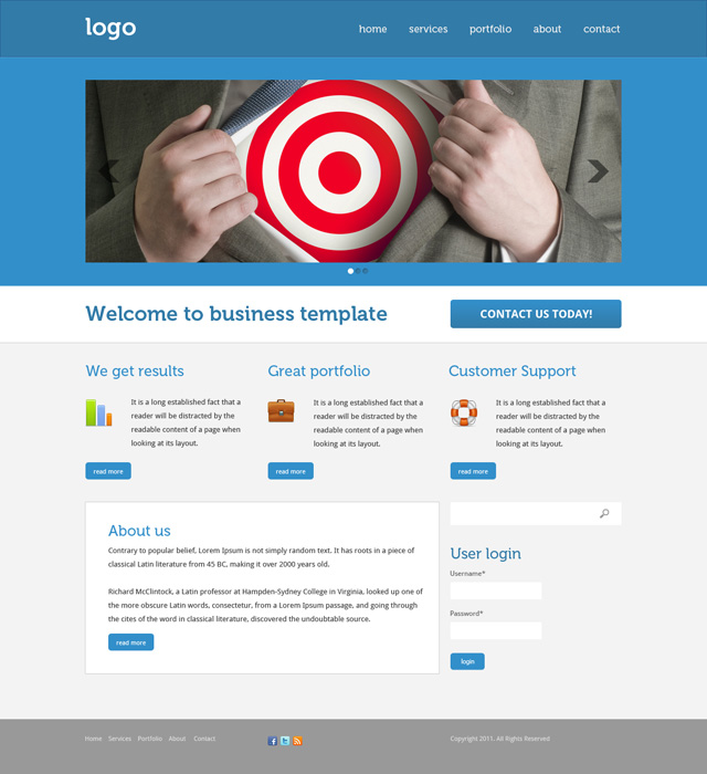 Implementing a Drupal Business Theme
