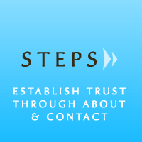 Preview for Building a Website in Progressive Steps: Establishing Trust