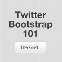 Preview for Twitter Bootstrap 101: The Grid