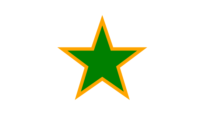 SVG  - 创建多边形星