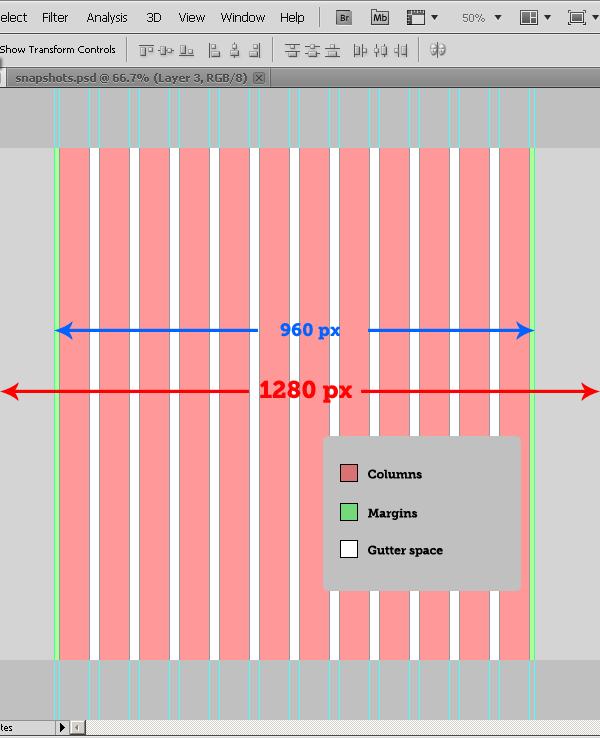 Writing A Flexible Grid Script For Photoshop
