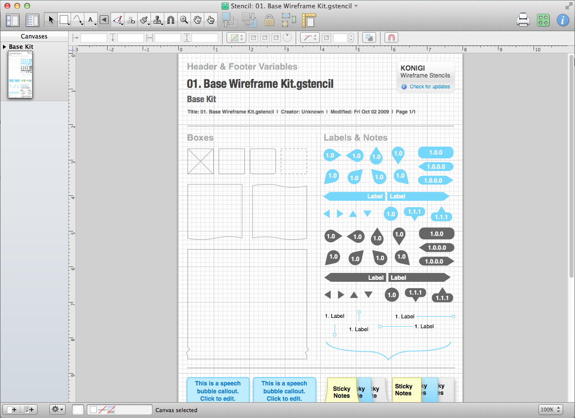 A beginners guide to wireframing in omnigraffle edit stencil ccuart Image collections