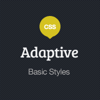 Preview for Adaptive Blog Theme: Basic Styles