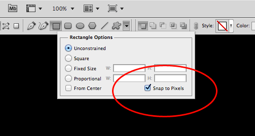 how to find center in photoshop