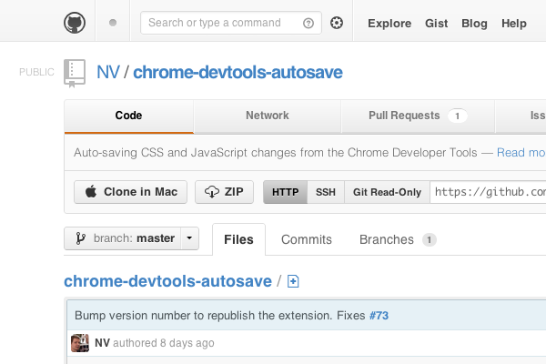 Quick Tip: On The Fly Editing With DevTools Autosave