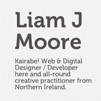 Preview for Web Design Workshop #6: Liam J Moore