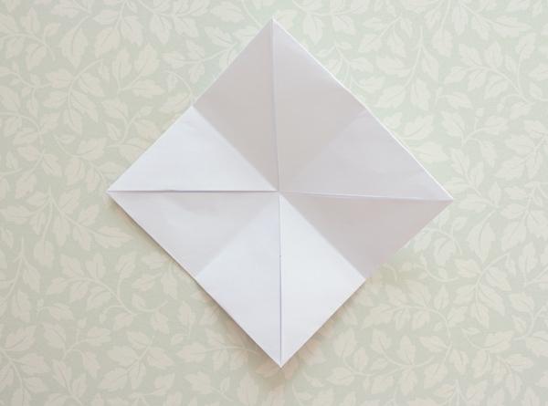 11-origami lantern-open