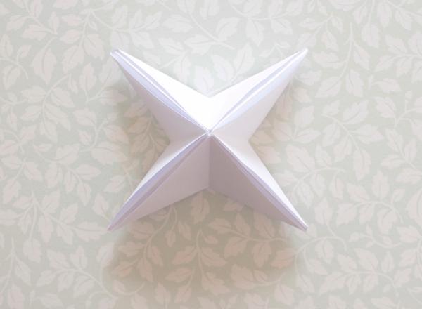 15-origami lantern-ready star