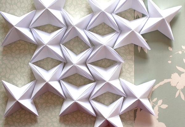 17-origami lantern-position pattern