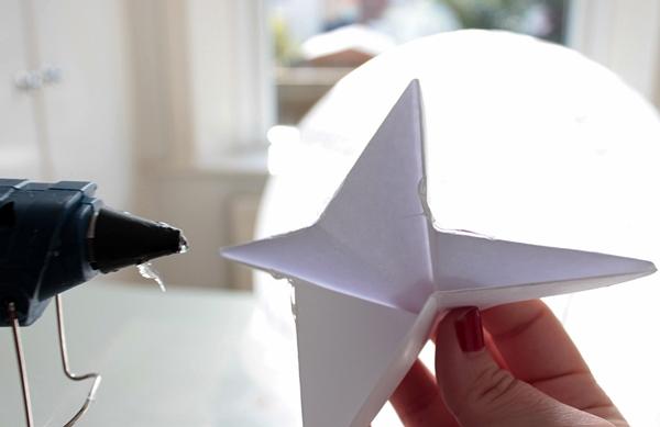 19-origami lantern-glue starb