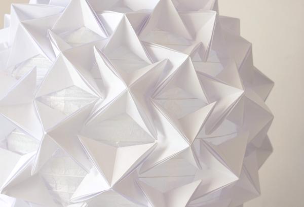 DIY Origami paper lantern tutorial