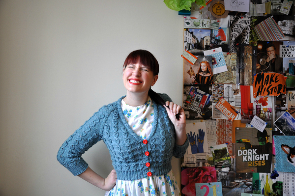 Interview with knitter Andi Satterlund