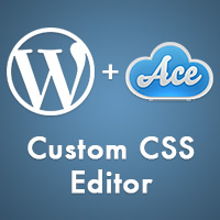 Link toAdding a custom css editor to your theme using ace