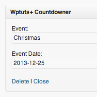 Building a countdown timer widget preview